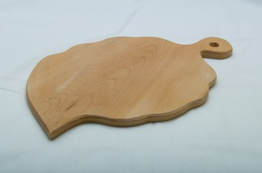 Leaf shaped cutting board 25x40 cm