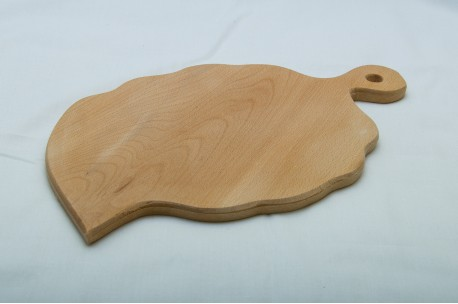 Leaf shaped cutting board 25x40 cm
