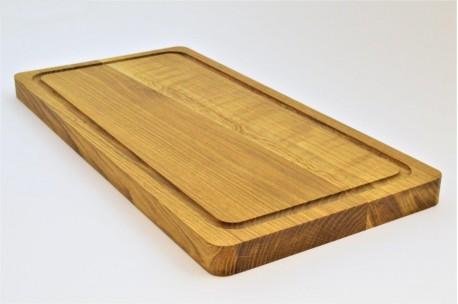 Big oak cutting board 24x48 cm