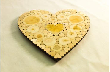 Heart shaped trivet