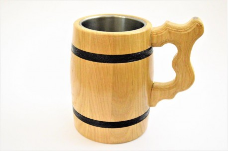 Beer mug with metal inside 0,3 L